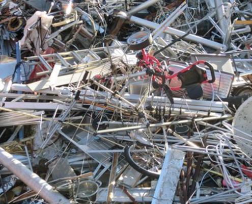 Aluminium mit Fremdhaftung